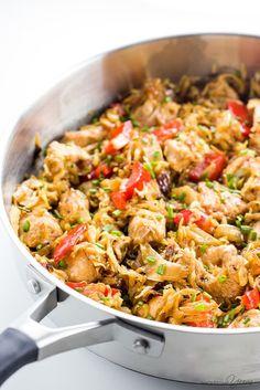 Chicken Cabbage Stir Fry – 15 Minutes (Paleo, Low Carb, Gluten-free)