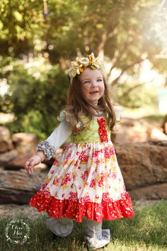 Enchanting Autumn dress by Olive Mae Clothing, releasing Aug 24 at 7pm cst