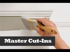 Paint/Trim/Wall Cutting in Painting tips. Painting a straight ceiling line just like a professional painter. Simple tips to paint cut-ins along a ceiling or wall. Painting a...