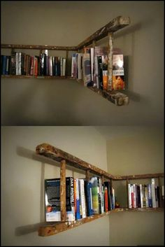33 Things To Do With An Old Ladder  How many times have you seen a ladder on the scrap heap?  Maybe you've got one or two languishing in the shed.  Here are some ways you can put them to good use.