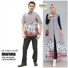 Kebaya Hijab, Kebaya Dress, Batik Kebaya, Batik Muslim, Batik Couple, Batik Fashion, Videos Online, Muslim Couples, Shirt Style