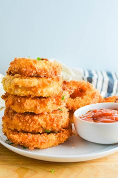 Fried Onion Rings Recipe Homemade Onion Rings, Onion Rings Recipe, Baked Onions, Crispy Onions, Easy To Make Appetizers, Appetizer Recipes, Snacks Recipes, Potato Recipes, Cake Recipes