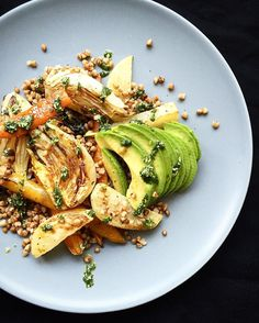 Roasted Root Vegetables Avocado and Buckwheat Salad served with Pistou! Recipe is now #ontheblog link in bio. #homemade #heresmyfood #foodblogfeed  #eeeeeats #eater #lifeandthyme #f52grams #thekitchn #thechalkboardeats #hautecuisine #huffposttaste #instaeat #igersberlin #BAreaders #feedfeed @thefeedfeed #foodandwine #cookit #tastingtable #todayfood #thatsdarling #dailyfoodfeed #mycommontable #myopenkitchen #foodinstagram #rslove #OurPlatesDaily #foodstand #glutenfree #gloobyfood by…