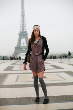 Paris Street Fashion; Bold & Unique