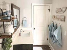 Bathroom Hooks, Farmhouse Style, Rooms, Cabinet, Think, Storage, Happy, Furniture, Instagram
