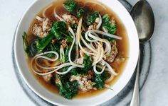 Spicy Pork and Mustard Green Soup   29 Delicious Asian-Inspired Soups