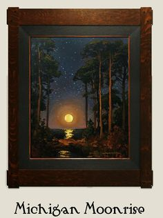 """""""Michigan Moonrise"""" 