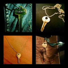 The Giving Keys -- jewelry you buy and give away to someone in need of the message on the key. Homeless peeps make the keys to give the a chance at a better life and get them off the streets.