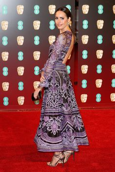 Louise Roe - Best Dressed at the 2017 BAFTA Awards  - Photos