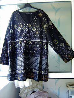 18 Gudrun Sjoden Fernanda robe robe de coton L