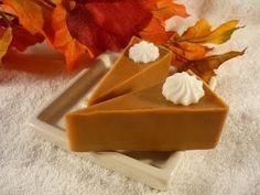 Pumpkin Pie Slice Soaps by Bunny Bubbles