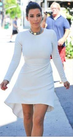 I love how classy kim is... - Kim Kardashian Style