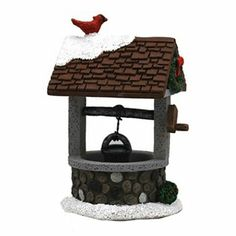 St. Nicholas Square Village Collection Wishing Well