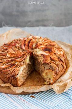Ciasto cynamonowe z jabłkami Polish Recipes, Food Cakes, Cake Recipes, Food And Drink, Bread, Baking, Cook, Drinks, Essen