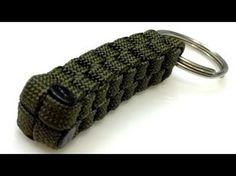 【パラコード】【002】きれいなひもの編み方 ~キーホルダー~ - YouTube もっと見る