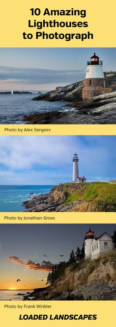 10 Amazing Lighthouses to Photograph (in the United States)