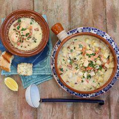 Easy Seafood Chowder
