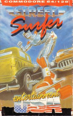 Street Surfer (Commodore 64)ohvideogames:Developed by Binary Design in 1986 for Commodore 64 —http://www.megalextoria.com/forum2