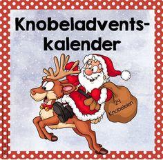 24 Knobeleien für den Advent (Knobeladventskalender) Dieses Jahr wird in meiner Klasse im Advent wieder täglich geknobelt. Im Netz kann m...