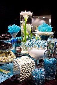 BLUE bridal party <3