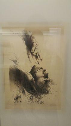 Estas pinturas, en las que dialogan la figuración y la abstracción losgeneros pictoricos deldesnudo, el paisaje y la pintura historiica. los hechos del periodo de la violencia marcaron a mas de una generación de un artista