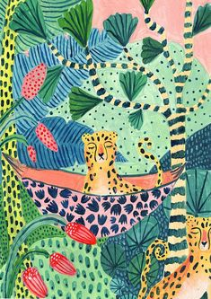 Leopard-Illustration Regenwald-Illustration Leopardenmuster Amber Textiles baby care tips Leopard Print / Botanical Print / Jungle / Safari / Nursery Wall Art / Botanical Illustration / Tropical Art / Jungle Print/Cheetah/Wall Art Art And Illustration, Botanical Illustration, Friends Illustration, Baby Wall Art, Nursery Wall Art, Jungle Pattern, Jungle Art, Jungle Safari, Illustrator