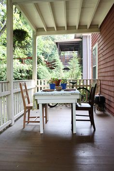 julia / rennes - porch