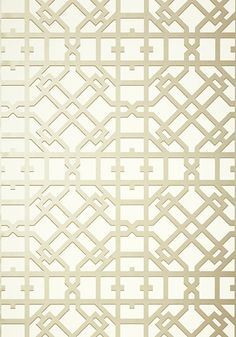 Thibaut TURNER wallpaper, pearl on off-white