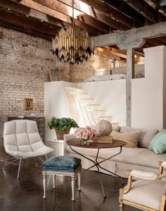 I continue to have a soft spot for lofts and this one with classic and feminine touches mixed w...
