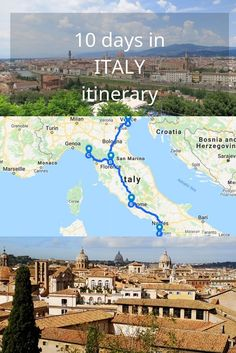 Our recommended 10 day Italy itinerary for first timers in Italy. Must see cities, landmarks and practical tips for planning 10 days in Italy travel Perfect 10 day Italy itinerary for first time visitors Places To Travel, Travel Destinations, Places To Visit, Verona, Cannes, Brisbane, Melbourne, 10 Days In Italy, Cities In Italy