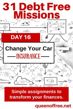 You are probably paying too much for your car insurance. This post contains some great wisdom on how to re-evaluate the expense and take one step closer to becoming debt free.