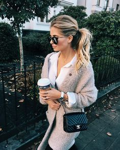 """40.8k Likes, 426 Comments - XENIA VAN DER WOODSEN (@xeniaoverdose) on Instagram: """"Running for coffee is my cardio ☕️☕️☕️☕️☕️ (whole look later on the blog ⚡️⚡️ #ootd @aboutyoude)"""""""