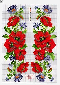 Gallery.ru / Фото #6 - Flores ponto cruz Barrado - ArtesaJn