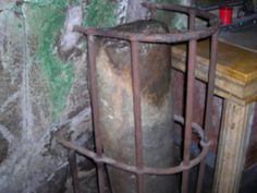 Paul was chained to this column at the Mamertine Prison in Rome.