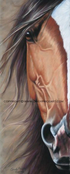 black and white 3' x 4' art horse - Google Search