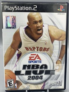 Playstation 2, Xbox, Nba Live, Best Graphics, Video Game Console, Sony, Basketball, Game Rooms, Toronto Raptors
