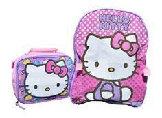 Sanrio Hello Kitty 15 Backpack and Lunch Box Combo Kit (Hello Kitty Pink Sparkle) //Price: $23.98 & FREE Shipping // World of Hello Kitty https://worldofhellokitty.com/product/sanrio-hello-kitty-15-backpack-and-lunch-box-combo-kit-hello-kitty-pink-sparkle/    #hellokitty