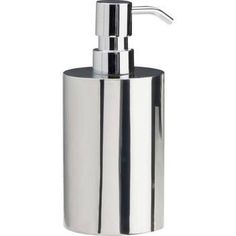 urban steel soap dispenser freestanding chrome - Google Search