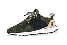 Illustrator Dan Freebairn of KickPosters imagines collaborations between some of the best streetwear brands and the adidas Ultra Boost.