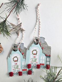 House Gift Tags by Heather Nichols for Papertrey Ink (September 2015)