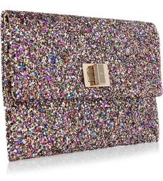 12 days of Christmas #12: Anya Hindmarch Valorie Clutch in Glitter #christmas #anyahindmarch #clutch
