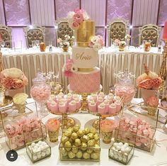A space for daily blissful inspiration! Owner of Storybook Bliss Gold Birthday Party, Sweet 16 Birthday, Gold Party, 16th Birthday, Birthday Parties, Shower Party, Baby Shower Parties, Bridal Shower, Foto Baby
