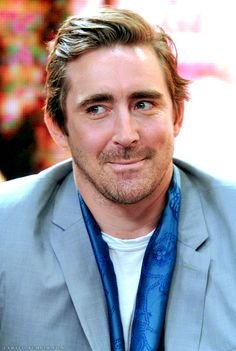I love you, Lee Pace! You are so wonderful and sexy and sweet & did I say I love you?!?