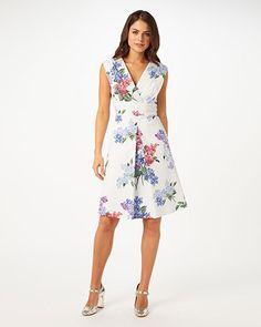 Lilac Flower Dress