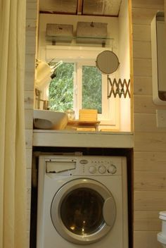 Tiny House Washer Dryer modern tiny house 5 Find This Pin And More On Tiny House Plans Splendide A Vented Washerdryer
