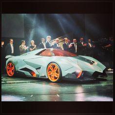 The NEW #Lamborghini Ecosta unveiled