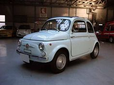 FIAT 500 D type 1959 suicide door, half length sun-roof model.