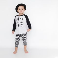"""""""Boys will be Boys"""" Raglan 