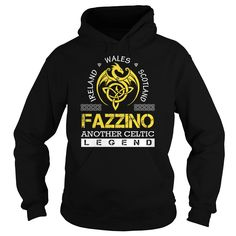 [Cool tshirt name meaning] FAZZINO Legend FAZZINO Last Name Surname T-Shirt Discount Codes Hoodies, Funny Tee Shirts