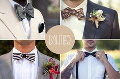 Iata cateva accesorii pentru un mire care sa arate impecabil in ziua nuntii! #groom #wedding #bowties #auroraweddings